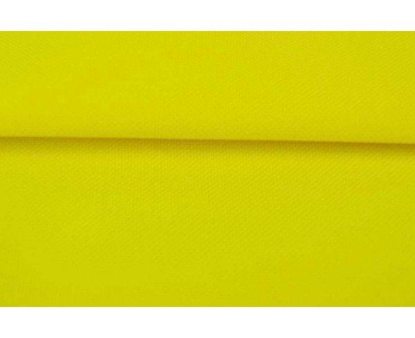 tissu Toile nattée imperméable - jaune au mètre