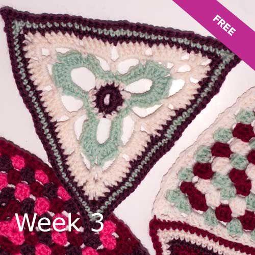 Patons Wool DK Crochet Along: Week 3 Tutorial
