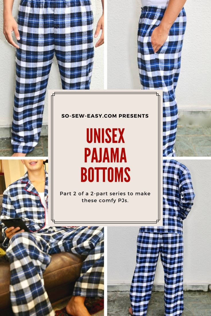 Unisex pajama bottom to match the top we did last week. In sizes 379cc422b