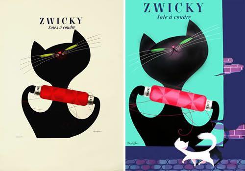 make me a drinky, black cat.: Poster Design, Zwicki Yarns, Zwicki Cat, Cat Thread, Cat Ads, Famous Cat, Cat Lovers, Cat Daddy, Black Cat