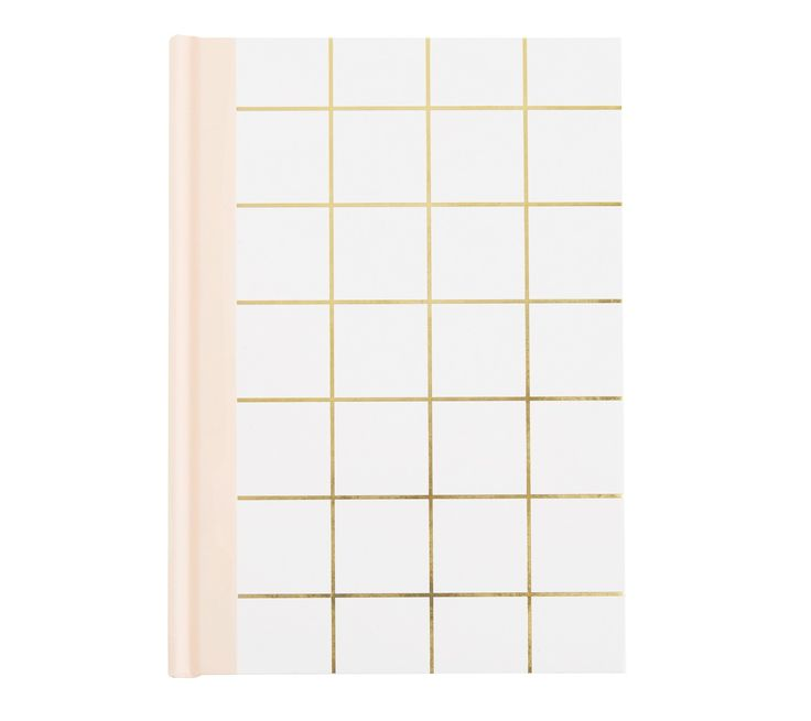 Capture your daily thoughts, notes and dreams in style with this gorgeous A5 Feature Journal, which includes over 200 lined and blank pages. The pretty yet minimal cover and unique designed pages are perfect for inspiring a daily journaling tradition. Add a matching pen for a beautiful and meaningful gift for someone special.