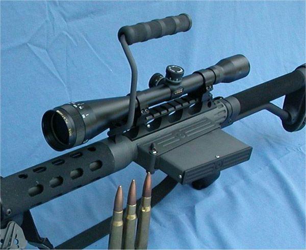 cerebralzero:  Zel CustomTactilite T2 .50 BMG Upper