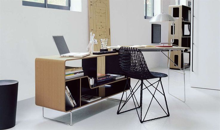 Writing desk arne collection b b italia design for Office design italia srl