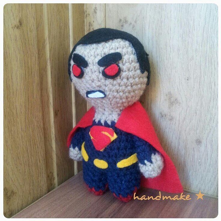 Man in steel #handmake #handmade #crochet #instacrochet #amigurumi #toy #superhero #etsy #actionfigure #batmanvssuperman #supermen #maninsteel #dc #dccomics #dcuniverse #fans #comics #супергерой #супермен #человекизстали #диси #комиксы #коллекционнаяфигурка #ручнаяработа