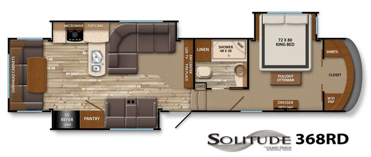 Solitude Fifth-Wheel Image Galleries | Grand Design RV We pick our new home away from home Friday, can't wait!