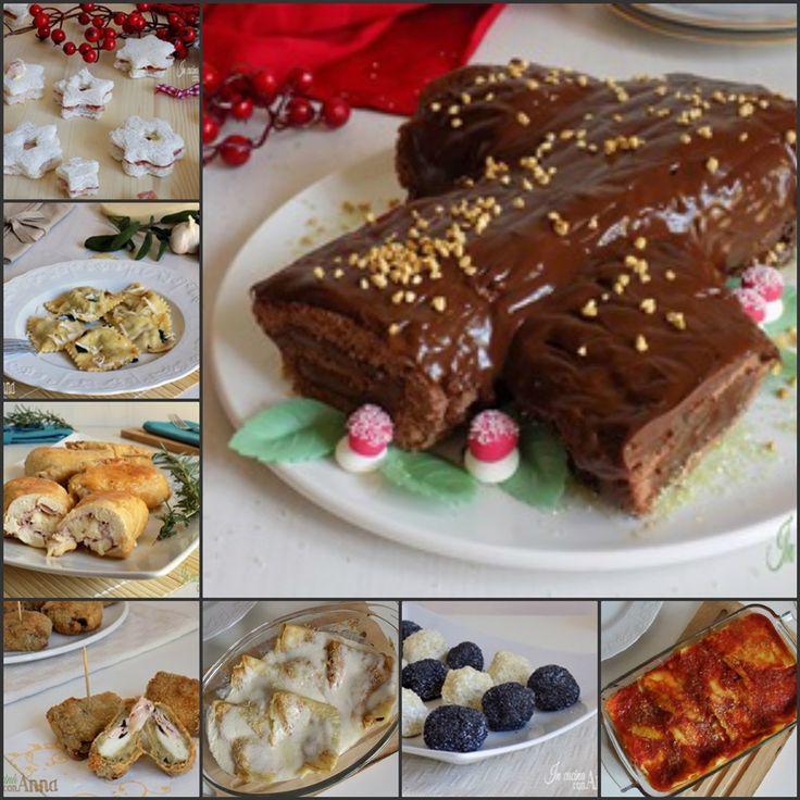 Eccovi tante idee per il pranzo delle feste,ricette perfette per tutti i gusti dall'antipasto al dolce...