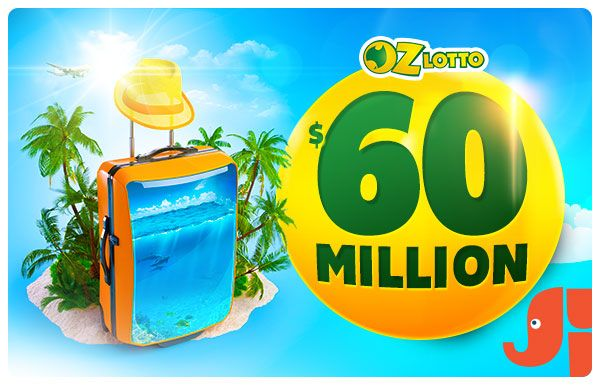 ☼ $60 Million Mega Jackpot - It's the biggest jackpot of 2015!  Don't miss your chance to win  $60,000,000 Oz Lotto this Tuesday.