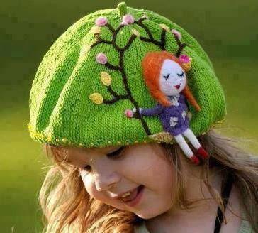 üzeri işlemeli kız çocuk şapka modelleri