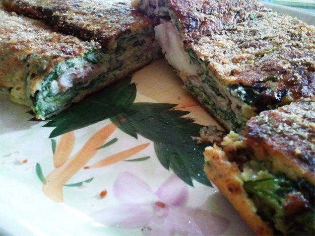 L'omelette gigante al forno con ricotta e spinaci http://www.milady-zine.net/omelette-gigante-al-forno-con-ricotta-e-spinaci/
