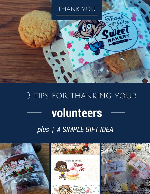 87 best leadervolunteer appreciation gifts images on pinterest 3 simple tips for thanking volunteers plus a free printable negle Image collections