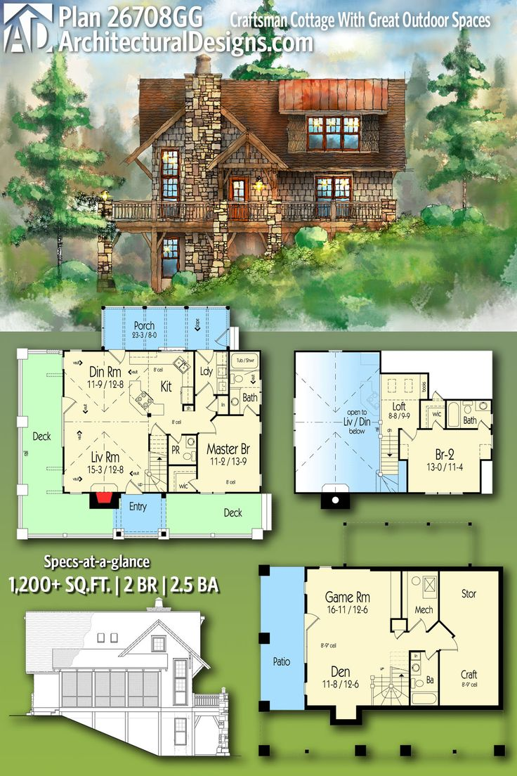 310 best rugged and rustic house plans images on pinterest