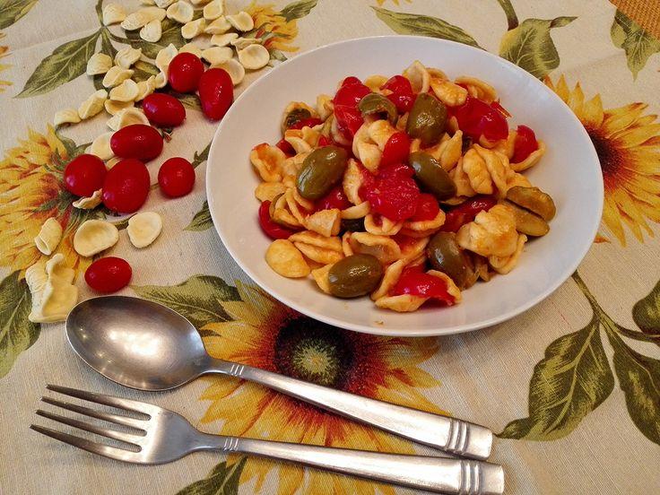 Orecchiette Pomodorini e Olive