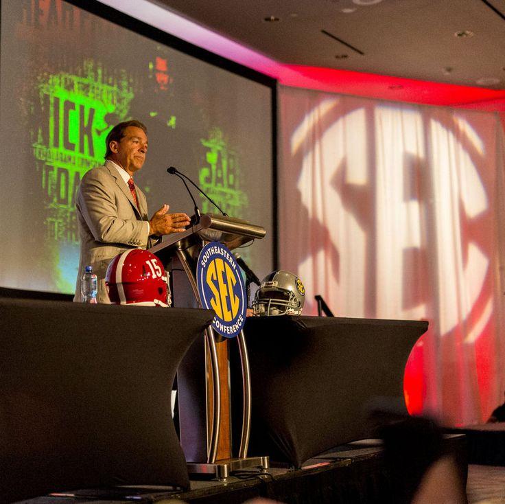 Alabama Football | Alabama Crimson Tide Football - al.com SEC Media Days