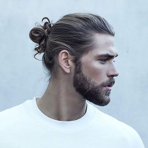 Top 25 Cool Beard Styles For Men 2019 Guide Man Bun Hairstyles Beard Styles For