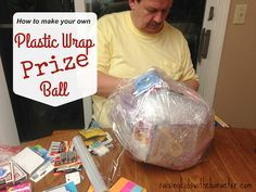 Plastic wrap prizes! Several have asked how we do this activity, so here is a somewhat-clear description! (The pics are a little grainy in our living room that night!) One thing that I highly recommend as you prepare for Christmas with teens and adults is that you... #candy #christmas #collegekids