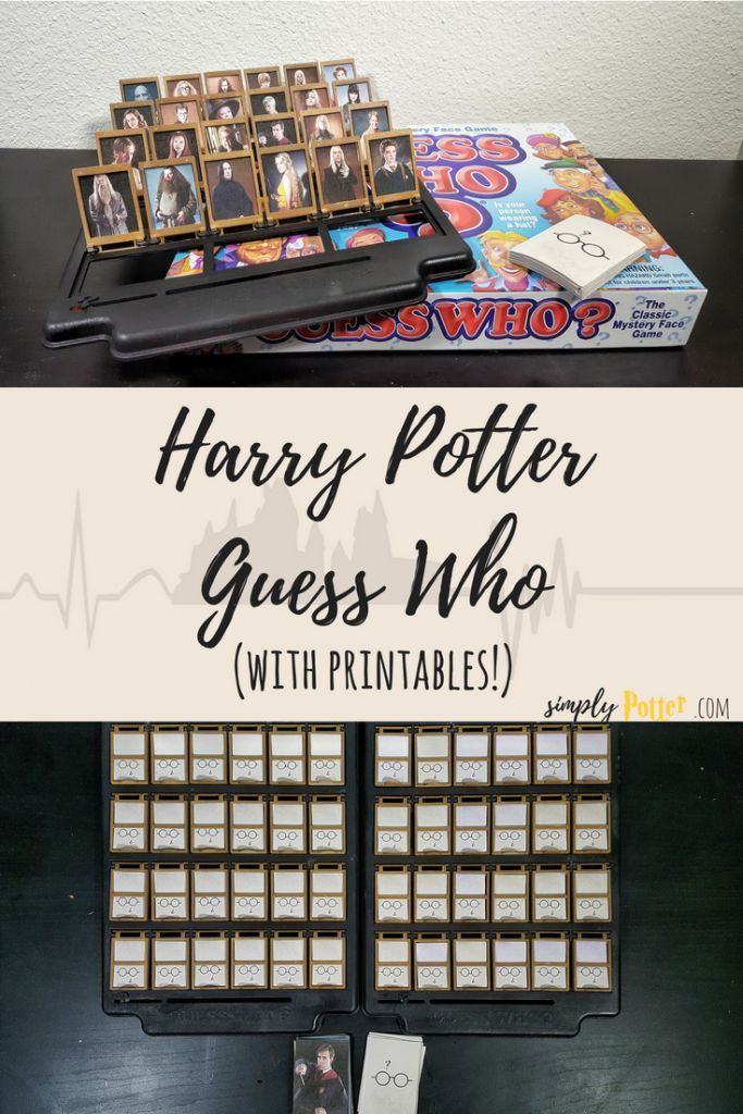Harry Potter Guess Who Spiel