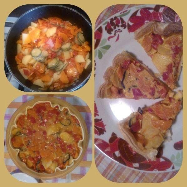 FOOD N' ROLL ...................... il blog ...: TORTA SALATA ALLE VERDURE