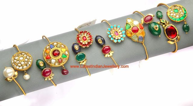 Light Weight Kundan Bracelets Collection | Latest Indian Jewellery Designs