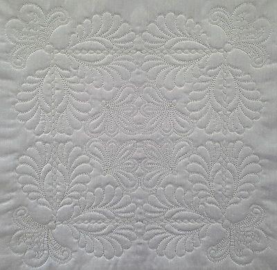 4x4- 3.80x3.80 inches; 4,562 stitches 5x5- 4.81x4.81 inches;