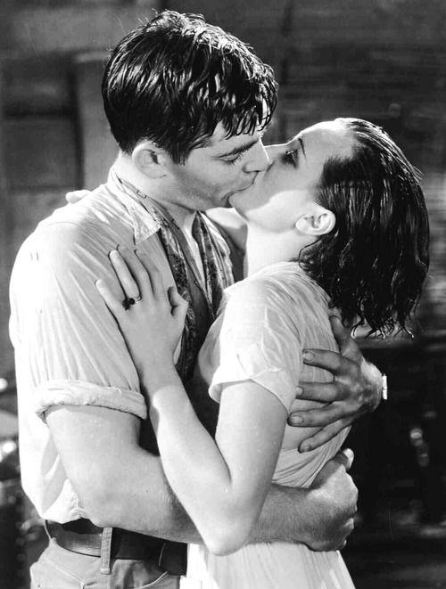 "Clark Gable and Mary Astor, ""Red Dust"""