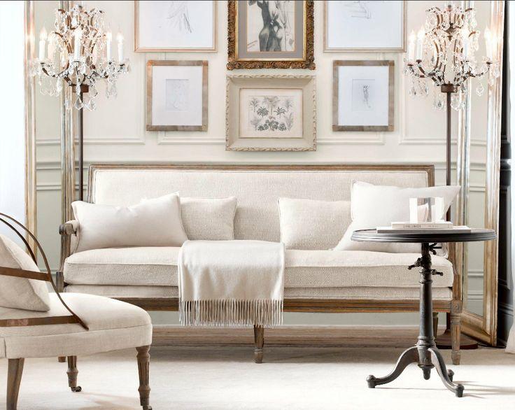 living room restoration hardware restoration hardware pinterest. Black Bedroom Furniture Sets. Home Design Ideas