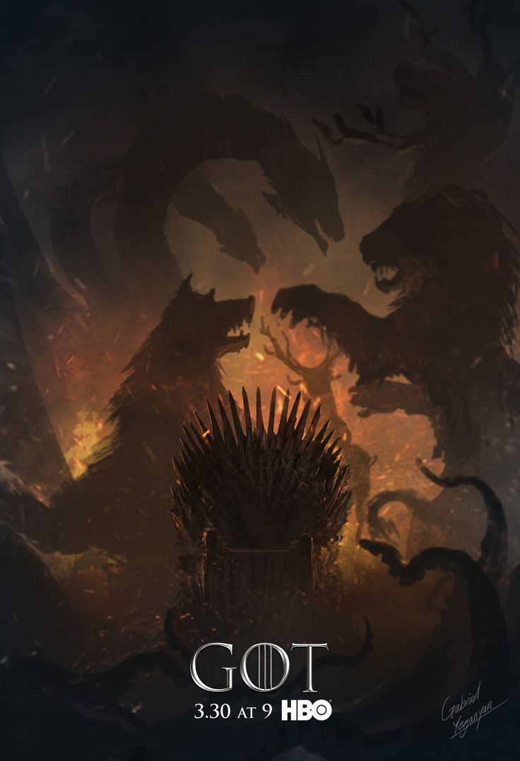 ArtStation - Concepts for HBO's Game of Thrones season 4 Cover, Gabriel Yeganyan