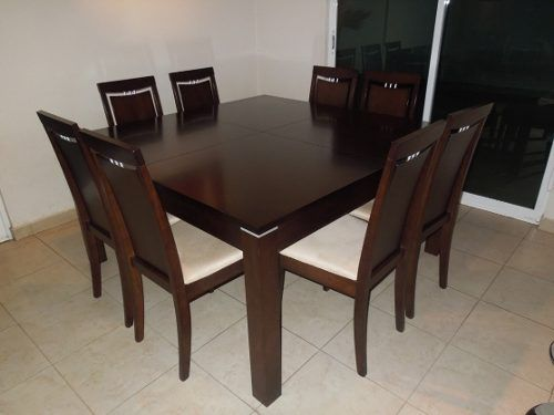juego de comedor de 8 sillas mesa extensible