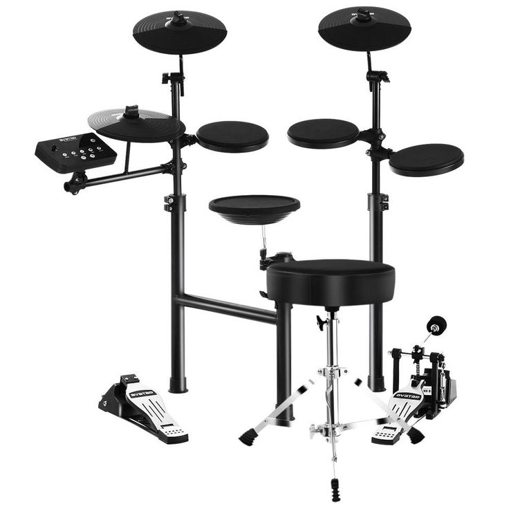 8 Piece Electric Electronic Drum Kit Drums Set Pad and