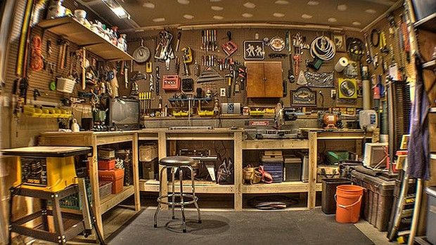 A handyman's haven can be just what he needs to help him recharge. Man cave, shed, den or garage - call it what you will, but every man needs a place for his toys. The men's corrugated iron shed is an integral part of Australian history that is being lost to modern urban development, apartment living and swanky outdoor entertainment areas designed more to impress than to de-stress.  http://www.theage.com.au/executive-style/strive/shedding-inhibitions-20130410-2hkzp.html