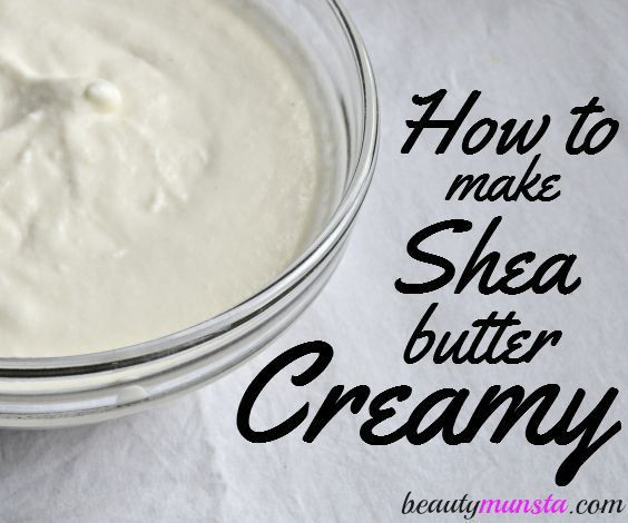 Learn how to make shea butter creamy with one of the best shea butter mix recipes!