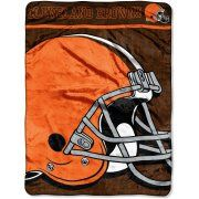 NFL Browns 46x60 Micro Raschel Throw