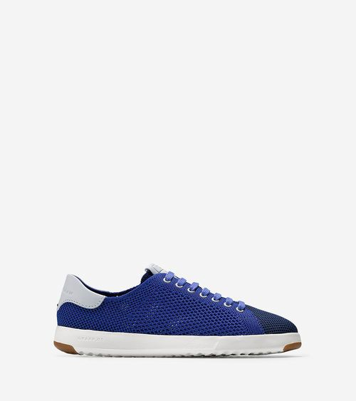 Men's GrandPro Stitchlite Tennis Sneakers in Storm Blue | Cole Haan