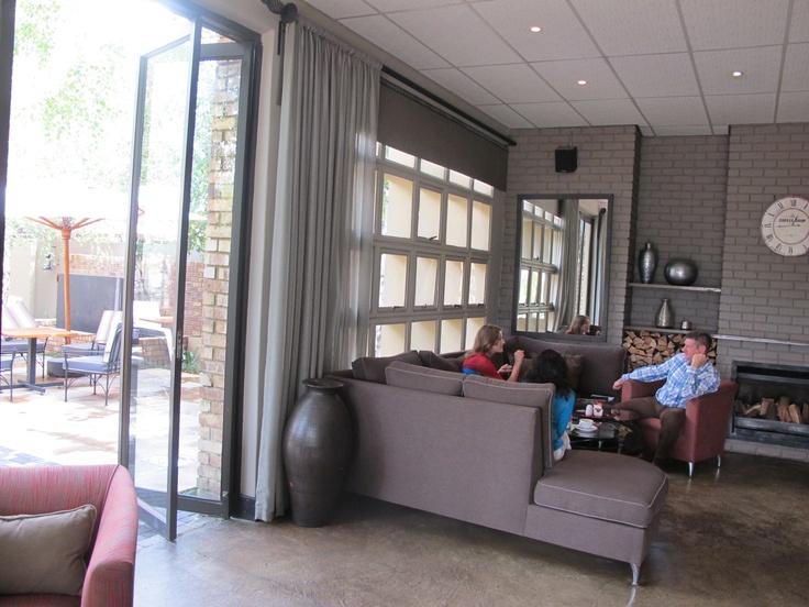 Curtain in electric Metal from Hertex _-Maranatha Coffee Shop 2013