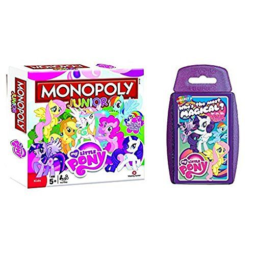 My Little Pony - Junior Monopoly & Top Trumps - Combo Deal Top Trumps & Monopoly http://www.amazon.co.uk/dp/B00N1VJNNU/ref=cm_sw_r_pi_dp_quJDub1YNXDPJ