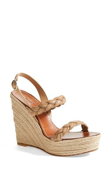 Free shipping and returns on Valentino 'Twist' Espadrille Wedge Sandal (Women) at Nordstrom.com. A pared-down sandal adds another dimension to your warm-weather looks with its braided suede and leather straps.