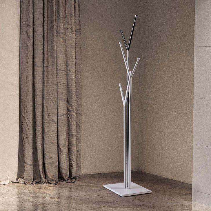 Cabideiro Cromado - Mobly (36x36x190) - R$569,99