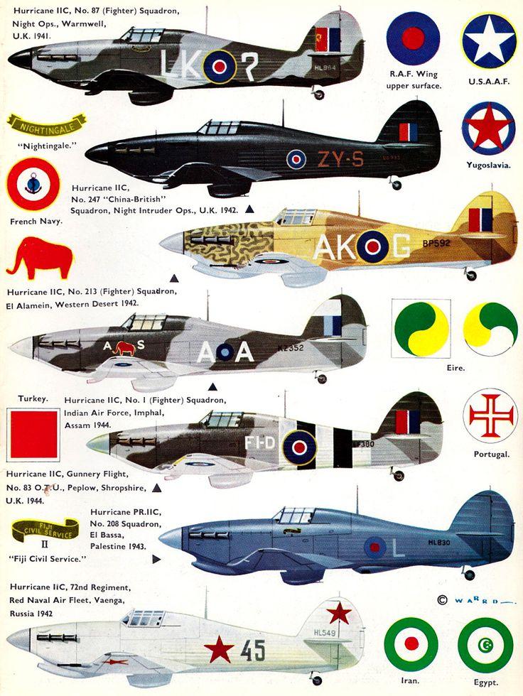Profile N°24 - Hawker Hurricane IIC http://maquettes-avions.hautetfort.com/archive/2011/03/06/profile.html