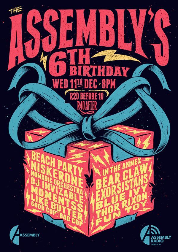 The Assembly's 6th Birthday Party on Behance