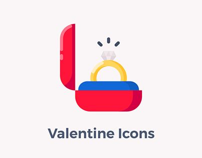 """Check out new work on my @Behance portfolio: """"Valentine Icons"""" http://be.net/gallery/47950095/Valentine-Icons"""
