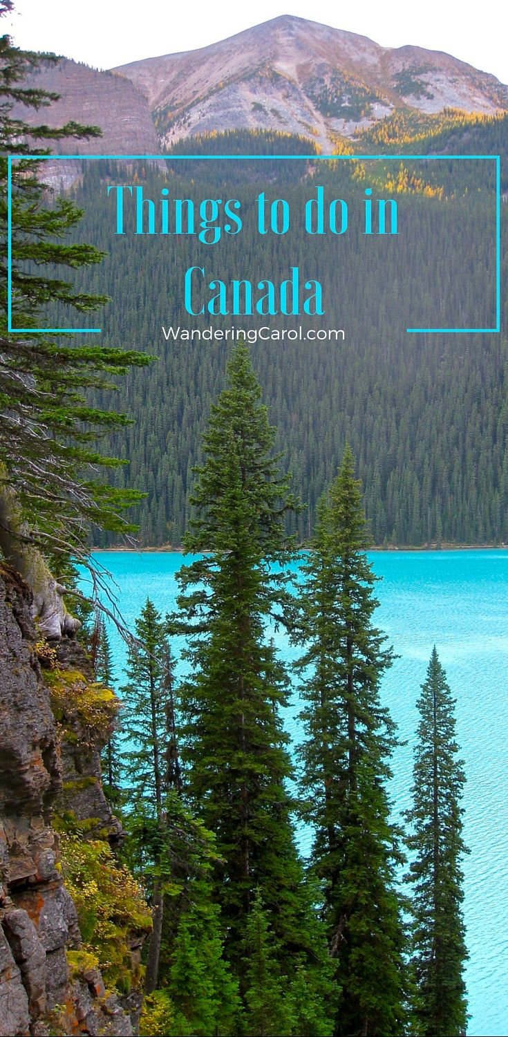 If you're thinking about travelling to Canada, here are some of the best places to visit and top Canadian things to see.