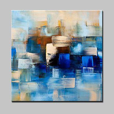 peint à la main peinture à l'huile abstraite moderne sur l'image de l'art mur de toile avec cadre étiré prêt à accrocher de 5213450 2017 à €56.44