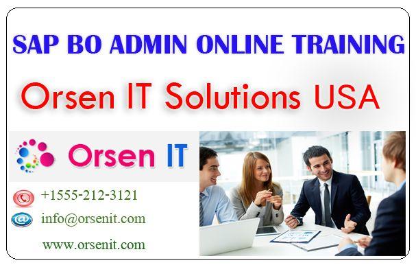 sap bo admin online training in usa,sap bo admin training,