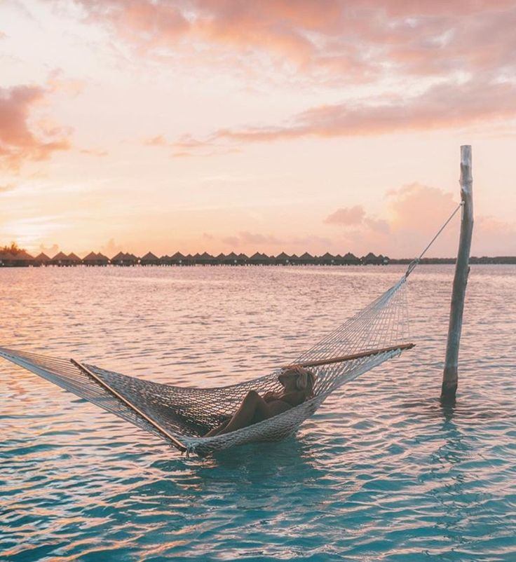 Lie down, whether it be in a hammock beside the ocean or simply in the comfort of your own home