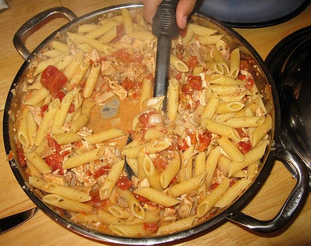 Chicken & Penne Pasta in Vodka Sauce
