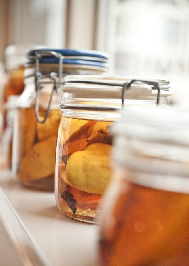 quince brandy - Not Without Salt