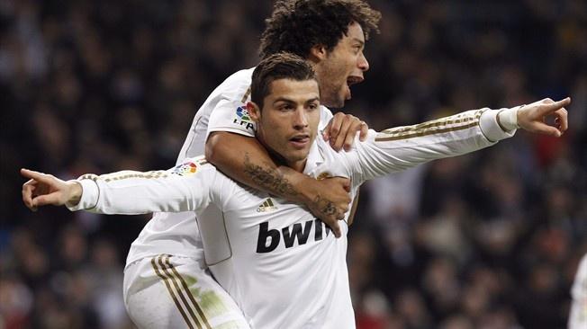 Cristiano Ronaldo & Marcelo Vieira