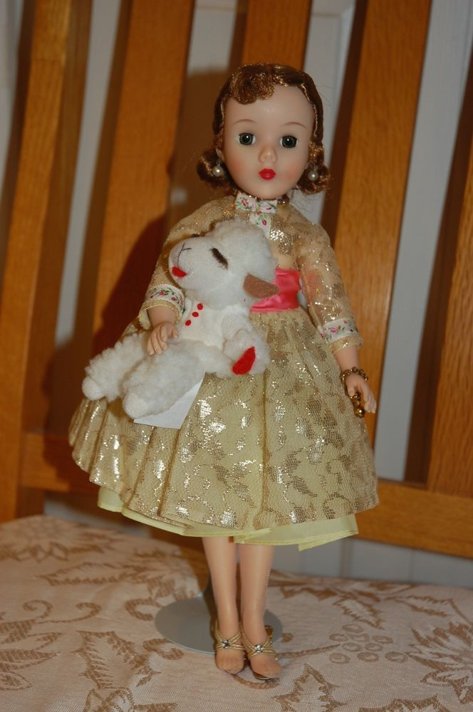 Madame Alexander 14 inch Shari Lewis Doll w/her puppet Lamb Chop.  Minty!  WOW!