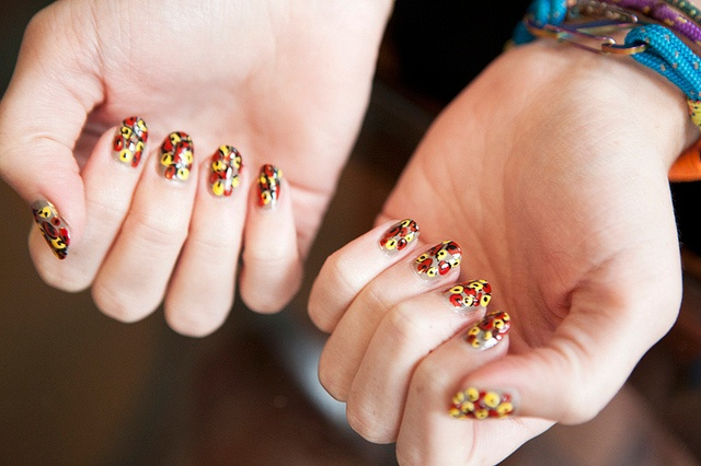 YSL Resort 2012 Inspired Nails 1 by ebmonson, via Flickr: Flower Nails, Nail Art Ideas, Beauty Department, Manicure, Beauty Nails, Nail Ideas, Diy Nails
