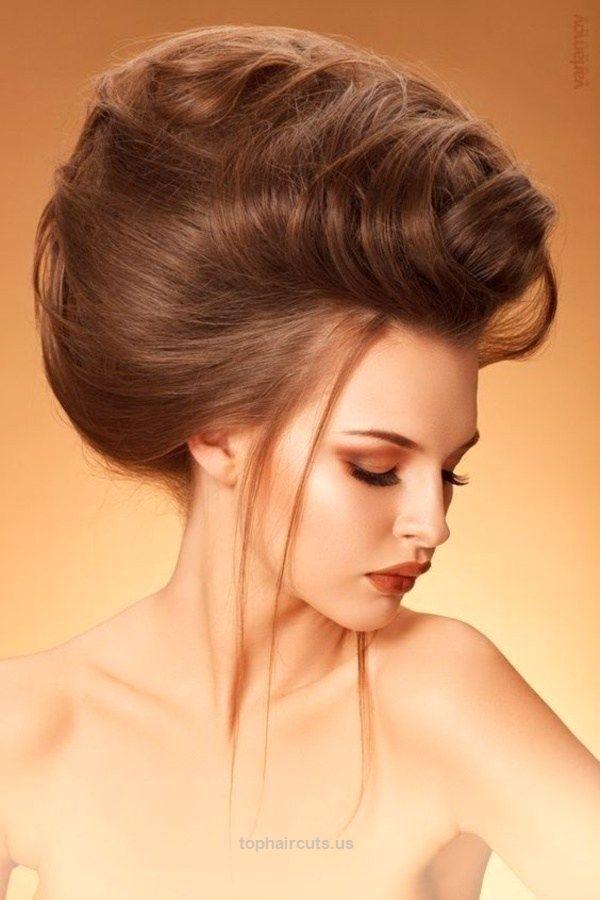 #Bouffant #Hairstyles #2017 #haircuts #female #medium #hair #hairstyles for #rou…