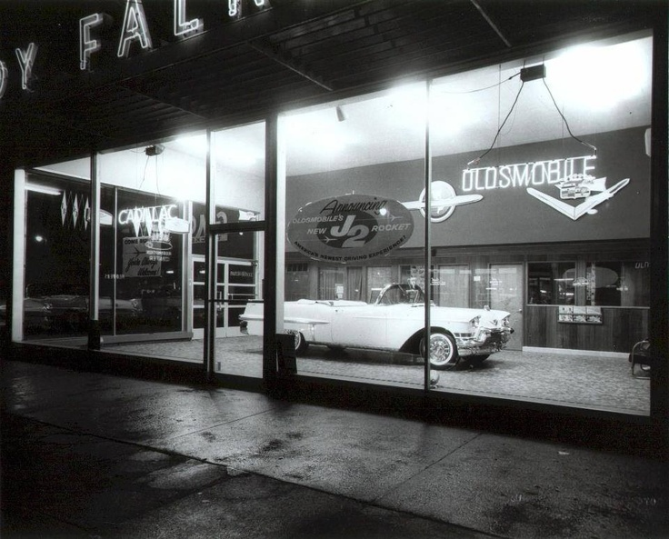The good old days! Car dealership, Dealership, Chevrolet